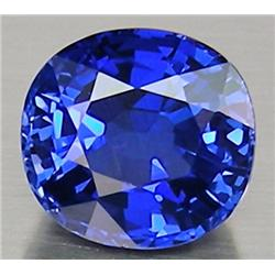 2.7mm Radiant Round Natural Violet Blue Tanzanite VVS RETAIL $250 (GEM-4610R)