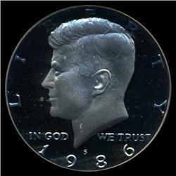 1986 Kennedy Proof Half Coin GEM Grade PR70 DCAM (COI-4043)