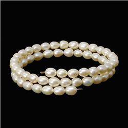 Saltwater Small White Pearl Bracelet  (JEW-260)