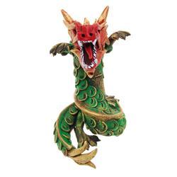 Hand Formed Teak Dragon  (CLB-403)