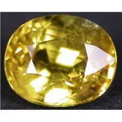 1.08ct VERY RARE  Charming  Yellow Sapphire Ceylon VS RETAIL $ (GEM-4150)