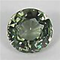 2.5mm RARE Graceful Round Natural Best Green Sapphire VVS RETAIL $225 (GEM-4523R)