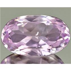 5.21ct RARE Eye-Catching Natural Pink Kunzite Afghanistan VVS RETAIL $2450 (GEM-7777)