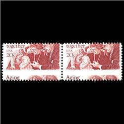 1982 RARE US Postage Stamp ERROR Mint (STM-0014)