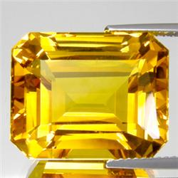 2.25ct. Octogon Natural Citrine Gem 8x10mm RETAIL $375 (GMR-0139)