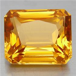 2.75ct. Octogon Natural Citrine Gem 8x10mm RETAIL $475 (GMR-0140)