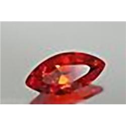 5mm Sparkling Marquise Red Sapphire Madascar VVS RETAIL $1550 (GEM-4609R)