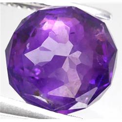 2.39ct RARE Ball Cut Violet Amethyst Nigeria VS RETAIL $550 (GEM-7413)