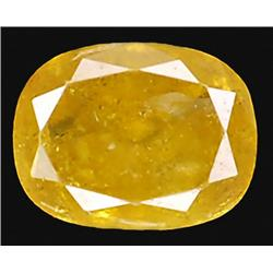 .22ct RARE Oval Cut Unheated Yellow Diamond RETAIL $1350 (GEM-7530)