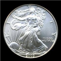 2005 Silver Eagle Graded GEM MS70 (COI-4068)