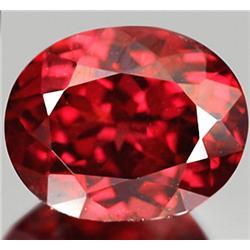 3.60ct RARE Impressive Natural Purple Red Rhodolite Garnet VVS RETAIL $1750 (GEM-7792)