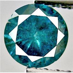 .4ct RARE Diamond Cut Light Blue Color Zircon VVS RETAIL $400 (GEM-7959D)