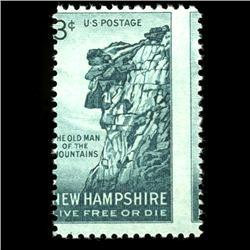 1955 RARE US Postage Stamp ERROR Mint (STM-0010)