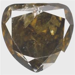.43ct RARE Pear Cut Unheated Fancy Diamond RETAIL $2350 (GEM-7280)