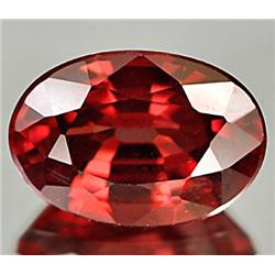1.66ct RARE Captivating Natural Imperial Red Zircon Gem VVS RETAIL $1850 (GEM-7632)