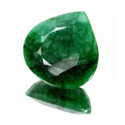 34.54ct. Excellent Pear Cut S. American Emerald RETAIL $3800 (GMR-0017)