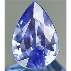 .34ct VERY RARE Pear Cut Top AAA Blue Natural Tanzanite VS RETAIL $550 (GEM-7953C)