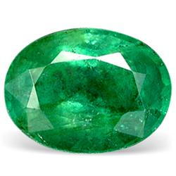 0.1ct. Natural Green Colombian Emerald Oval Cut RETAIL $1400 (GMR-0157)