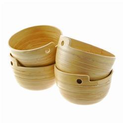 Stacking Spun Bamboo Sushi Bowls (DEC-172)