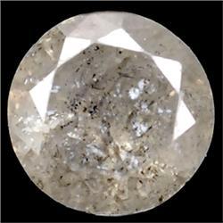 .16ct RARE Round Cut Unheated White Diamond RETAIL $850 (GEM-7285)