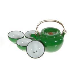 Chinese Glazed Clay Tea Set (CLB-204)