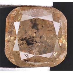 .28ct RARE Emerald Cut Unheated Fancy Diamond RETAIL $1550 (GEM-7199)