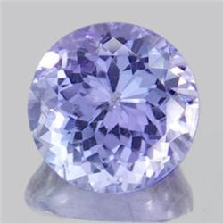 2.5mm Diamond Cut Purple Blue Tanzanite A Block RARE VVS1 RETAIL $250 (GMR-0227)