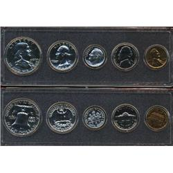 1960 US Coin Silver Proof Set Super Gem Coins UNSEARCHED (COI-2460)
