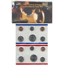 1995 US Coin Original Mint Set GEM Potential (COI-2395)