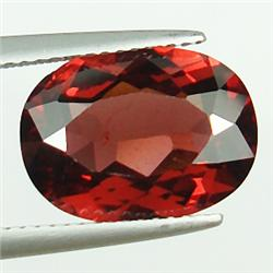 .4ct. Blazingly Gorgeous Red Oval Garnet Gem 6x4mm RETAIL $250 (GMR-0161)