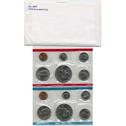 1978 US Coin Original Mint Set GEM Potential (COI-2378)