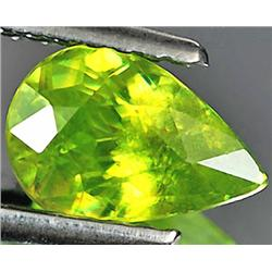 1.05ct. RARE Natural Intense Green Titanium Sphene Red Spark VS RETAIL $900 (GEM-3208)