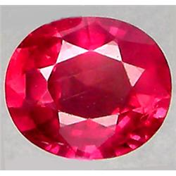 1.33ct RARE Top AAA Mozambique Pink Red Ruby VS Oval Cut  RETAIL $1350 (GEM-7319)