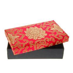 Handmade Silk Covered Box (DEC-088)