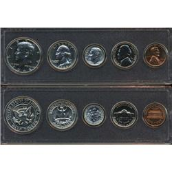 1964 US Coin Silver Proof Set Super Gem Coins UNSEARCHED   (COI-2464)