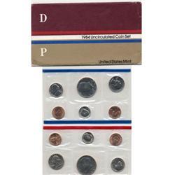 1984 US Coin Original Mint Set GEM Potential (COI-2384)