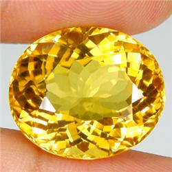 2.25ct. Oval Natural Citrine Gem 8x10mm RETAIL $375 (GMR-0136)