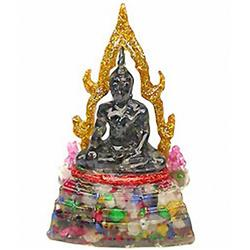 400ct. Buddha Statue Fancy Sapphire~Topaz RETAIL $950 (GEM-3033)