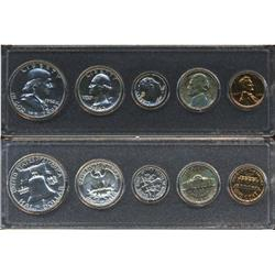 1962 US Coin Silver Proof Set Super Gem Coins UNSEARCHED (COI-2462)