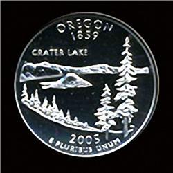 2005 US OREGON Quarter Coin GEM (COI-3579)