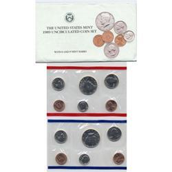 1989 US Coin Original Mint Set GEM Potential (COI-2389)