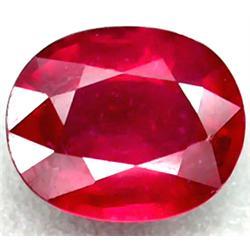 3.64ct RARE Good Quality Top Ruby Madagascar Oval Flashing CLEAR RETAIL $1500 (GEM-4982)