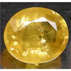 .8ct RARE Round Cut Golden Yellow Natural SapphireV S/SI RETAIL $1100 (GEM-7960A)
