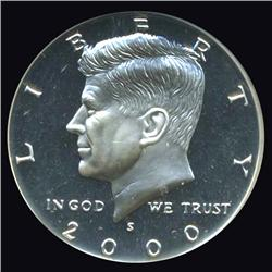 2000S Silver Kennedy Half Top Graded Proof (COI-3682)