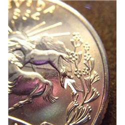 2006P Nevada Quarter POOPING HORSE Die Error RARE (COI-3654)