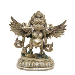 Silver Plated Bronze Thai Garuda   (ANT-605)