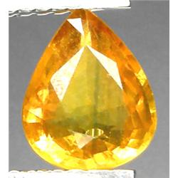 1.39ct RARE Pear Cut Top AAA Yellow Sapphire VS RETAIL $ (GEM-7220)