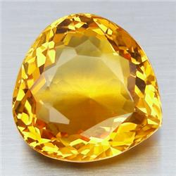 0.75ct. Natural Yellow Citrine Pear Cut 7mm RETAIL $250 (GMR-0142)