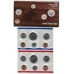 1985 US Coin Original Mint Set GEM Potential (COI-2385)