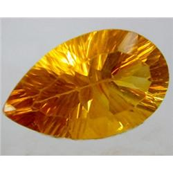 38.52ct RARE Sparkling Golden Yellow Flourite RETAIL $2250 (GEM-7875)